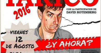 Ganate dos entradas para ver a Tarico en el Montoya