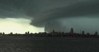 Advertencia amarilla: Alerta meteorológica por fuertes tormentas en Misiones