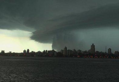 Advertencia naranja: Rige alerta meteorológico por fuertes tormentas en Misiones