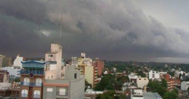 Anticipan chaparrones y tormentas en Misiones