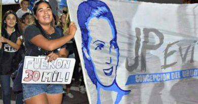 Misioneros en las redes vinculan el femicidio de Micaela con su participación política