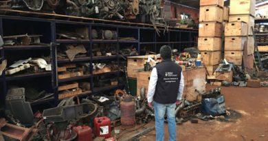 Revuelo entre políticos por operativos contra los desarmaderos en San Vicente