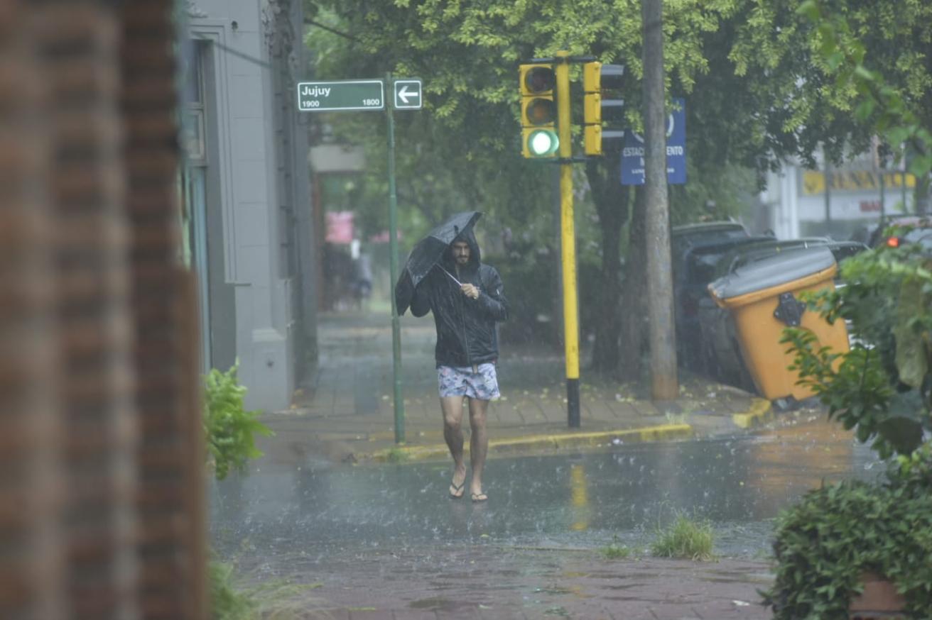 Las lluvias seguirán cayendo sobre la provincia este jueves