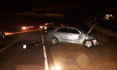 Murió un motociclista tras choque frontal en El Soberbio