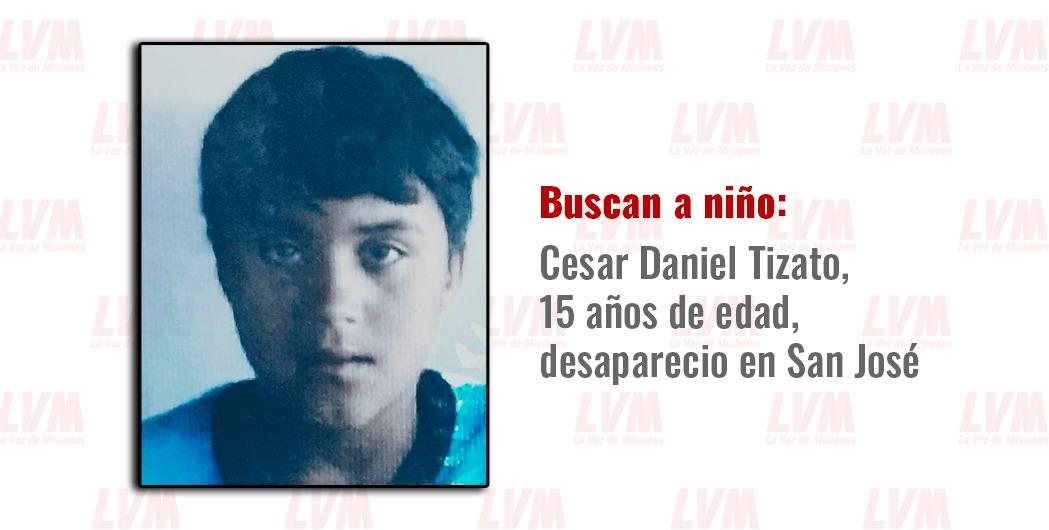 Casi una semana sin rastros: intensifican búsqueda de Daniel Tizato en San José