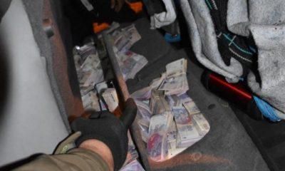 Dos obereños viajaban con casi $4 millones en Paso de los Libres