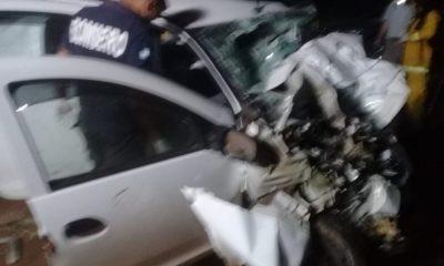 Tres muertos tras un triple choque sobre la ruta 14 en San Vicente