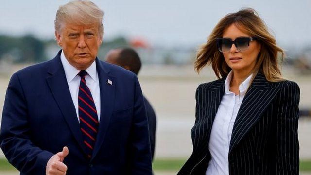 Donald Trump y su esposa se contagiaron de coronavirus