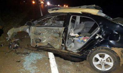 Un muerto y dos heridos luego de un triple choque en Santo Pipó