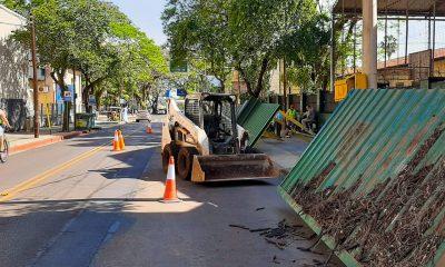 Posadas: ya construyen nueva estación tecnológica en la parada de Junín