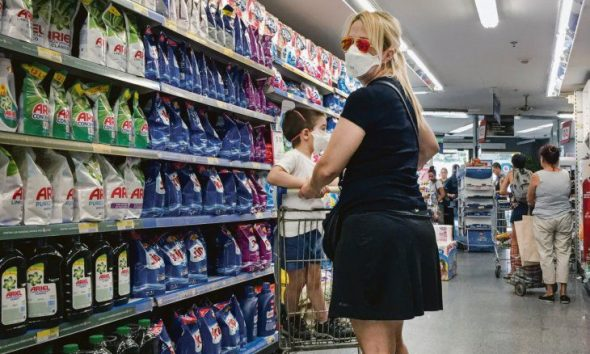 La inflación bajó 17 puntos en 2020 pero se aceleró en diciembre al 4%