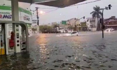 Fuerte temporal en Corrientes provocó inundaciones en varias localidades