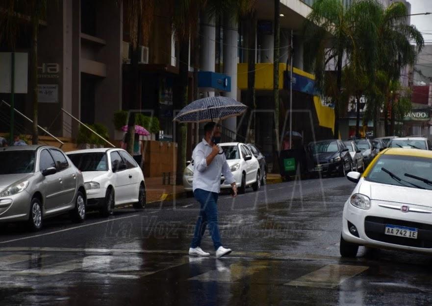 La semana termina inestable con lluvias y tormentas en toda la provincia