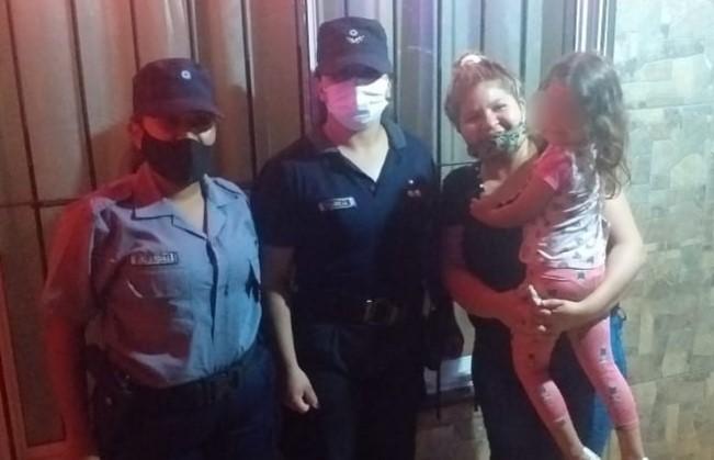 Posadas: niña de 5 se atragantó con caramelo y fue salvada por policías