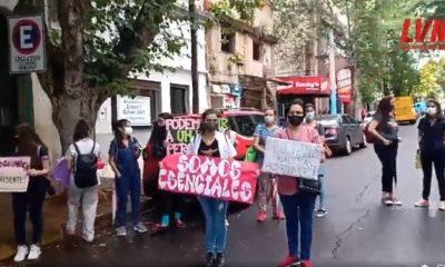 Estudiantes de la Unam piden la presencialidad para poder recibirse