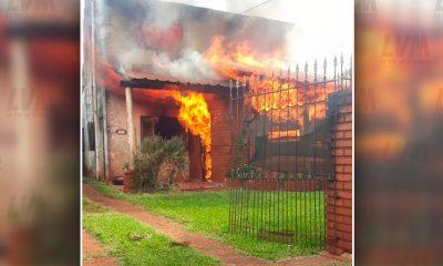 Abuelos posadeños perdieron todo tras incendio y apelan a la solidaridad