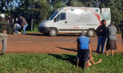 Motociclista murió tras chocar con camioneta de la Policía en Terciados Paraíso
