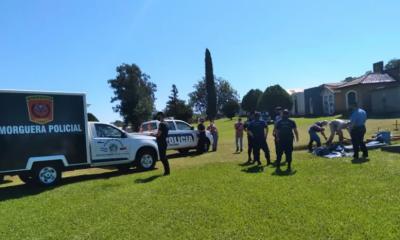 Exhumaron el cuerpo de la beba de San Javier que murió camino al hospital