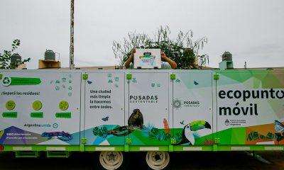 Posadas sumó un ecopunto móvil para la recolección diferencial de residuos