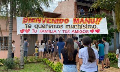 Fue dado de alta Manuel Sánchez y seguirá su recuperación junto a su familia