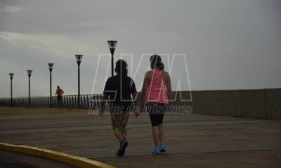 Mínima de 12º acompañada de lluvias y lloviznas para este martes en Misiones.Clima