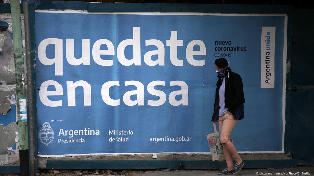 Doble récord en Argentina: 745 muertos y 35.543 casos en 24 horas