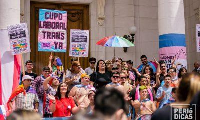 Es ley en Argentina el cupo laboral mínimo para travestis y trans