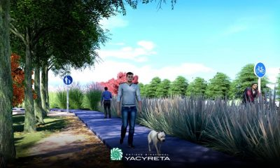 La EBY presentó el proyecto del Parque Lineal de Ituzaingó