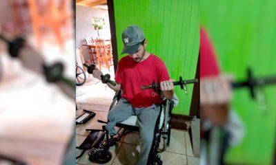 Perdió una pierna, entrena a diario y necesita $1,9 millones para su prótesis
