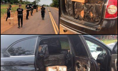 Contrabandistas chocaron y mataron a motociclista, abandonaron todo y se fugaron