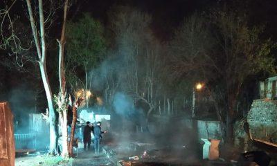 Detuvieron a una mujer por el incendio en el que murieron padre e hijo en Alem