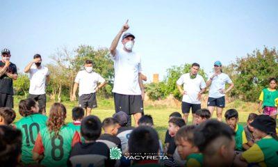 Yacyretá promueve el deporte como herramienta de desarrollo, salud y disciplina