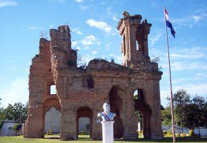 Ruinas de la Iglesia de Humaita.