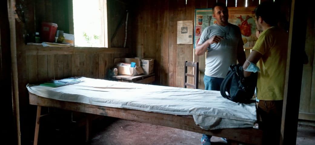 Con donaciones, se inició la construcción de la salita para Mirí Marangatú