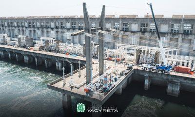 Se realizaron ensayos de verificación técnica previos a la reinserción de la Salida Línea Argentina N° 3 de Yacyretá al Sistema Argentino de Interconexión