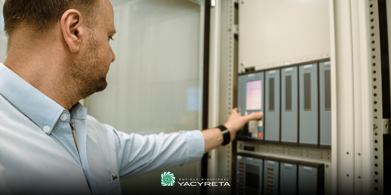 Yacyretá llevó adelante la modernización de los sistemas de protección de la Unidad Generadora N° 20