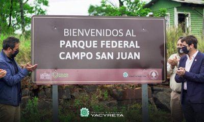 Fue firmado un convenio de colaboración entre la Entidad Binacional Yacyretá y la Administración de Parques Nacionales