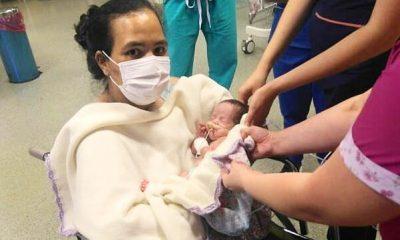 Tuvo un parto prematuro y conoció a su beba tras un mes inconsciente por covid