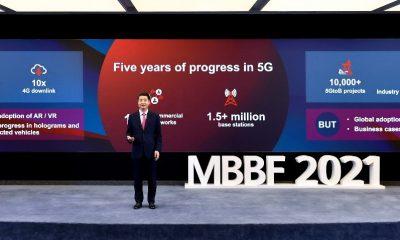 El presidente rotatorio de Huawei, Ken Hu, hace un llamado a la industria de las TIC para que colabore en la siguiente fase del desarrollo del 5G